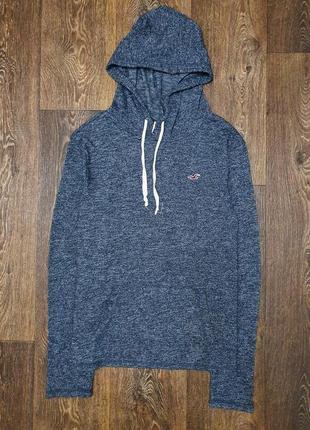 Классный мужской свитер худи кофта hollister