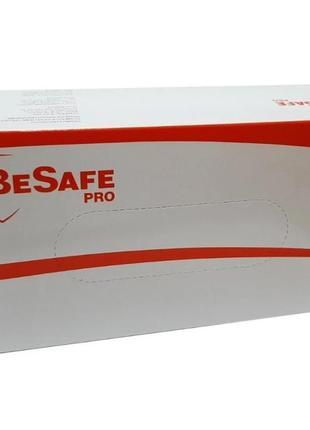 Перчатки латексные besafe pro