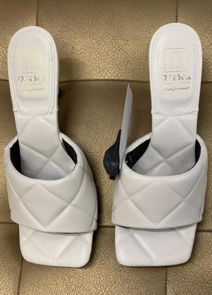 Шикарные стильные удобные плетённые туфли босоножки на шпильке