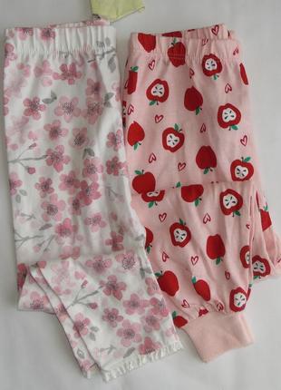 Набор 2шт. пижамные штаны 18-24 мес george- primark