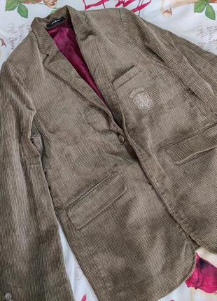 Мужской бредовый вильветовый пиджак