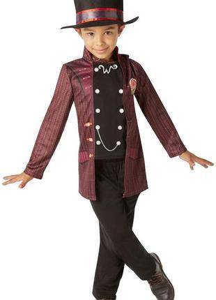 Вилли вонка костюм карнавальный 7-8 лет