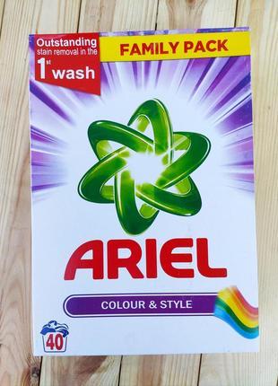 Высококачественный стиральный порошок ariel actilift colorwaschmittel 2600г великобритания