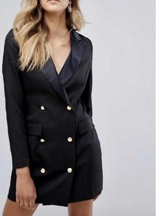 Шикарное платье-пиджак