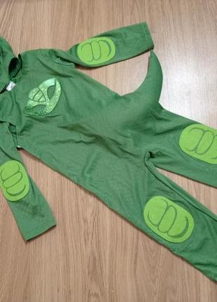 Карнавальный костюм гекко 3-4 года герои в масках. геко