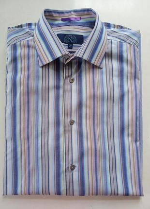 1+1=3 нежная рубашка в полоску next p.16-41