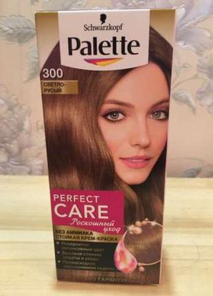 Краска для волос palette светло-русый (тон 300)