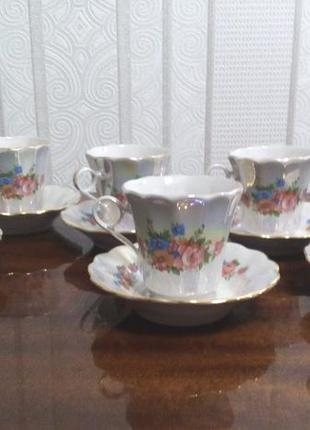 Чашки кофейные  коростенский фарфор