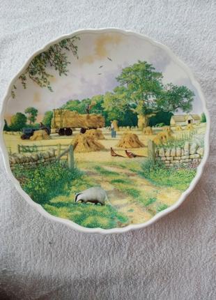 Коллекционная тарелка от royal albert