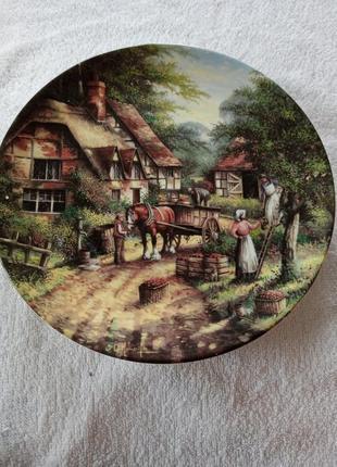 Номерная коллекционная тарелка