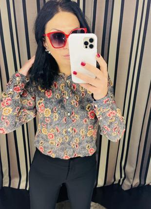Брендова сорочка isabel marant індія 25% шовку !!! ціна 299 грн розмір 36 🔥🔥🔥