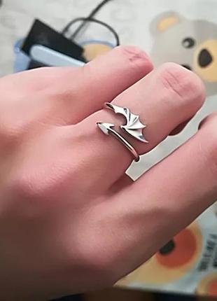 Кольцо в стиле панк
