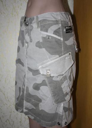 Камуфляжная юбочка, дефект, в подарок, м
