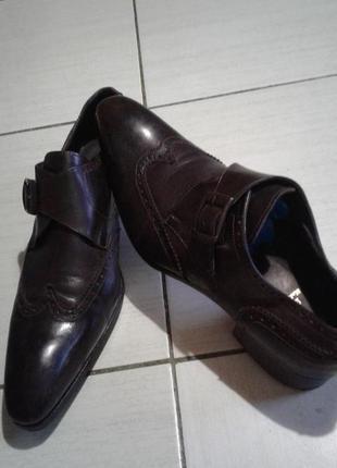 Стильные итальянские туфли 44 размер