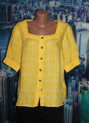 Блуза 100% лен