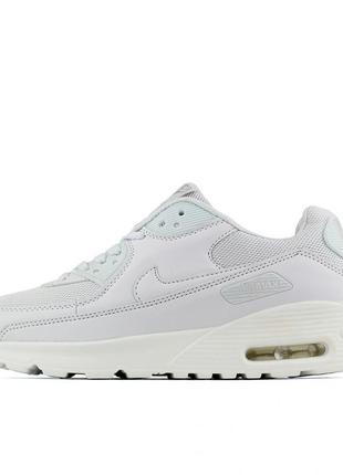 Шикарные белые кроссовки nike air max  37,38,41 рр.