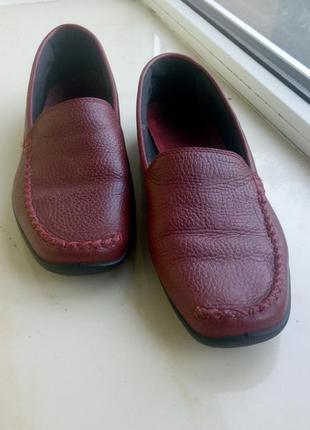 Кожаные очень мягкие туфли hotter!