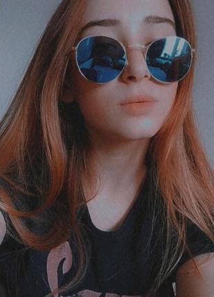 Солнцезащитные очки / зеркальные
