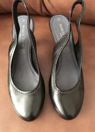 Кожаные босоножки кожа туфли / 15 грн доставка