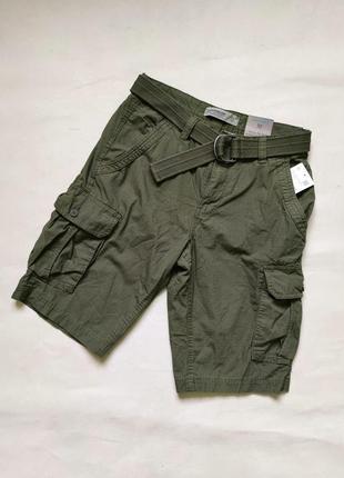 Мужские хлопковые шорты карго бермуды