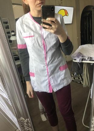 Медицинский халат кофта хирургическая