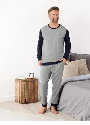 Мужская пижама домашний костюм livergy германия