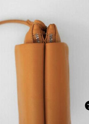 Кожаная сумочка zara5 фото