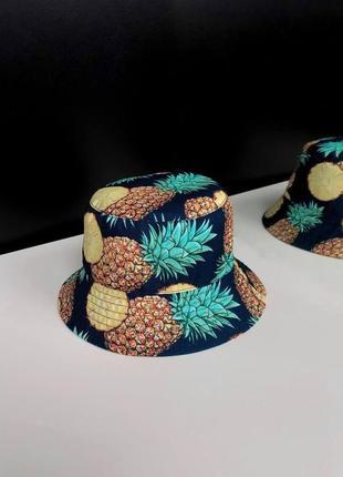 Хит продаж!двухсторонние топовые женские панамы,панама,головний убор,кепка hand made