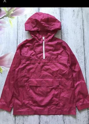 Крутая куртка ветровка с капюшоном f&f 10-12лет