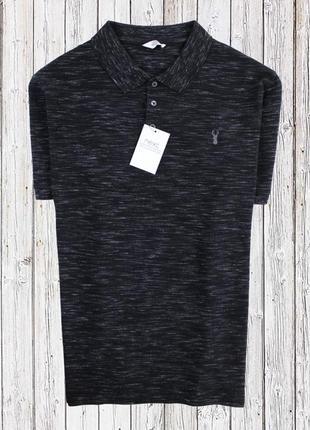 Стрейчевая футболка поло