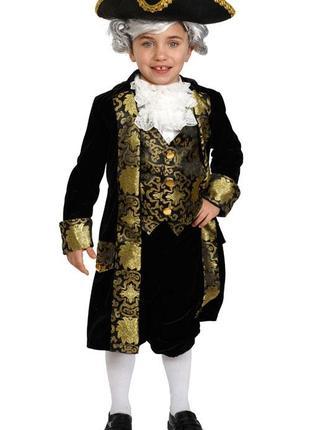 Шикарный исторический костюм для мальчика, фотосессия, утренник