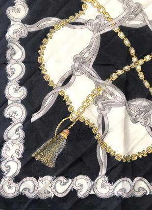 Шёлковый платок 🖤