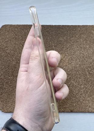 Чехол прозрачный чохол на для айфон iphone 6 + s plus силиконовый3 фото