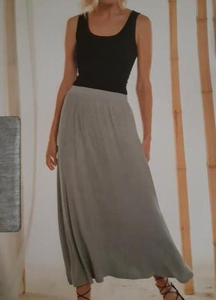 Длинная женская легкая юбка esmara германия размер 52-54