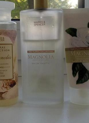 Marks & spencer floral collection magnolia (набор)