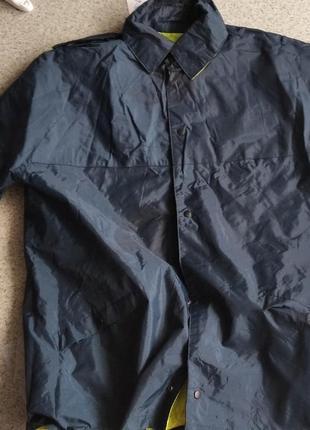 Куртка ветровка дождевик сигнальная непромокаемая непродуваемая