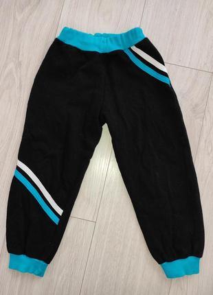 Спортивные штаны для мальчика трехнитка на байке104 размер