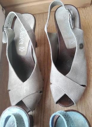 Босоніжки туфлі s.oliver