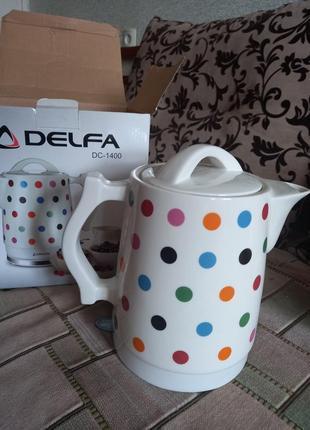 Чайник електричний 'delfa'