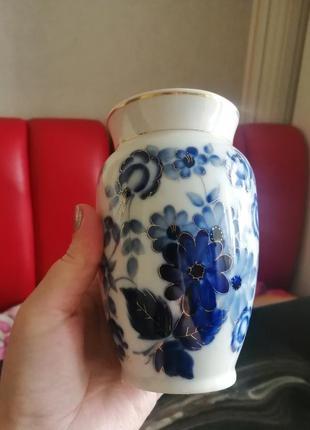 Ваза позолота ссср, редкая ваза, винтаж
