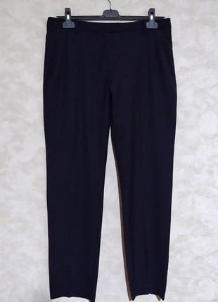 Классические синие брюки зауженные книзу autograph, xl