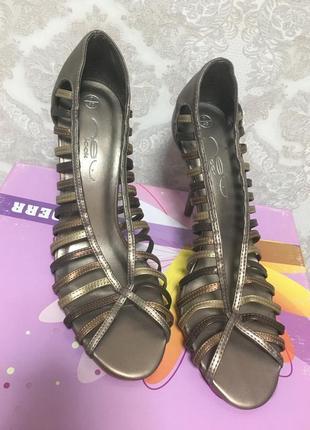 Летние туфельки длина стельки 26 см