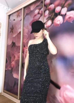 Нереальное, голографическое платья, новое платья, платья на одно плечо
