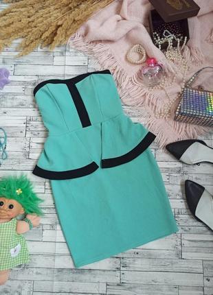 Вечернее текстурное платье футляр с баской