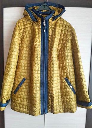 Подовжена куртка демісезон