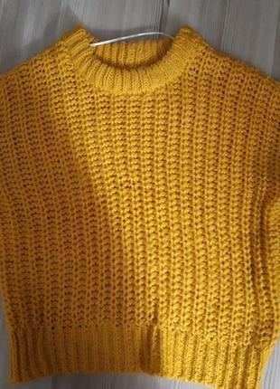 Жёлтый свитер noisy may