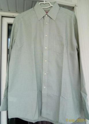 Брендовая мужская рубашка брльшого размера батал