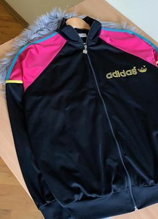 Винтажная олимпийка adidas оригинал