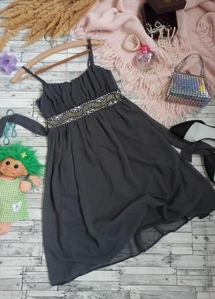 Вечернее платье миди с бисером🍀 dorothy perkins