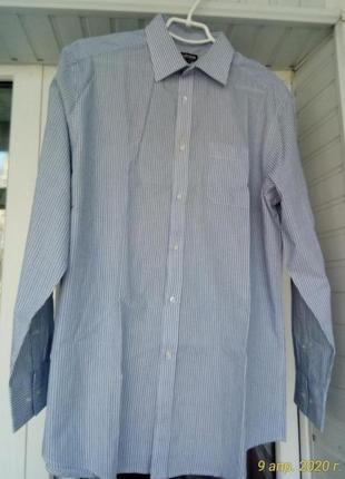 Брендовая коттоновая рубашка